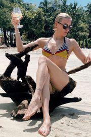 Katie Cassidy in Bikini in Costa Rica - Instagram