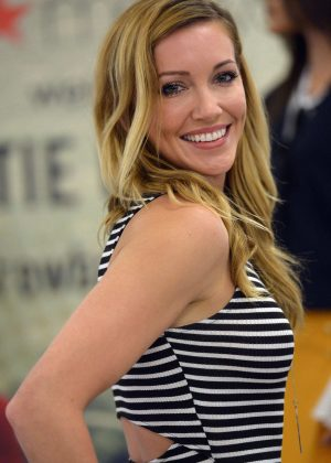 Katie Cassidy meets with fans at Macy's Dadeland in Miami