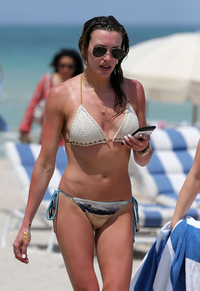 Katie Cassidy in Bikini in Miami