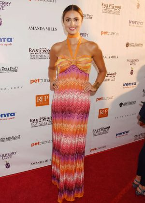 Katie Cleary - 2nd Annual Art for Animals Fundraiser Evening For Eastwood Ranch Foundation in LA