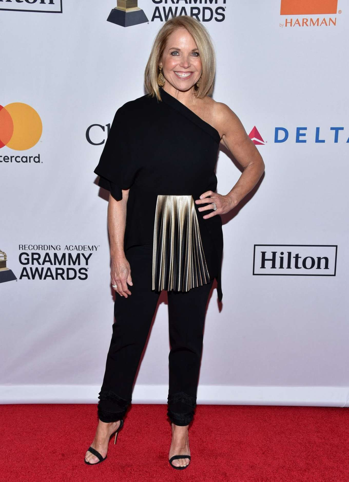Did katie couric get a boob job are