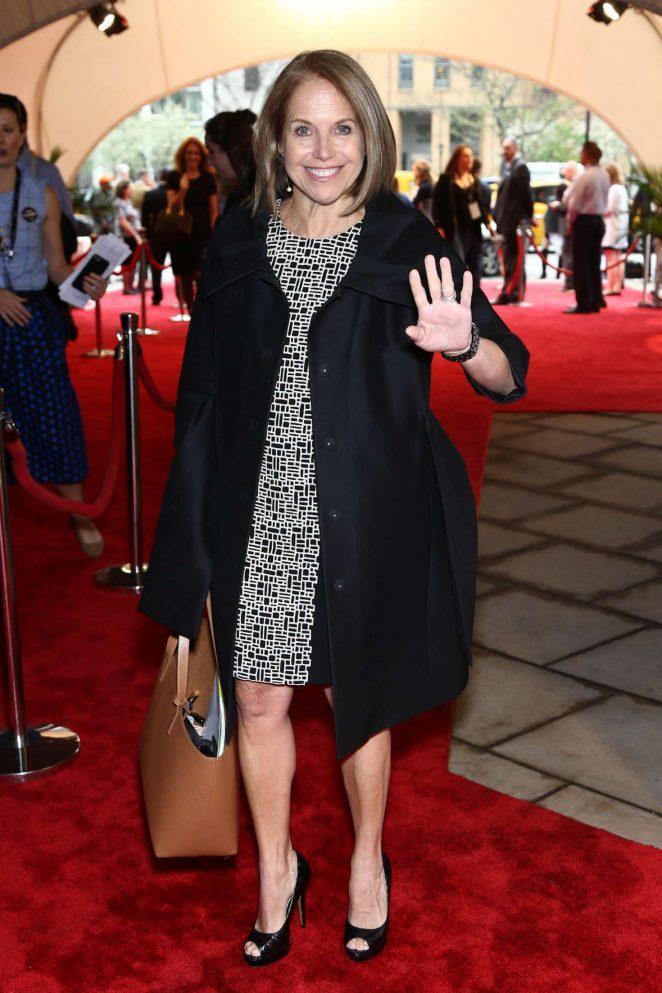 Katie Couric - 'Genius' TV show Screening at Tribeca Film Festival in NY