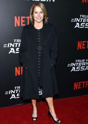 Katie Couric - 'True Memoirs of an International Assassin' Premiere in New York