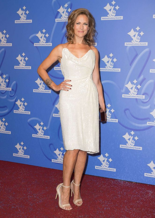 Katie Derham - National Lottery Awards 2016 in London