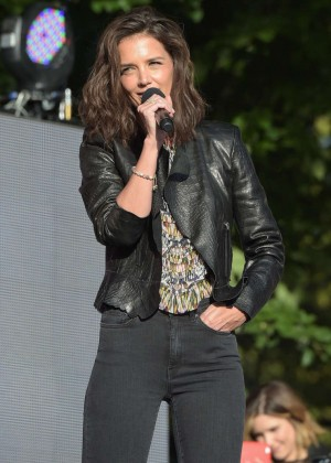 Katie Holmes - 2015 Global Citizen Festival in NYC