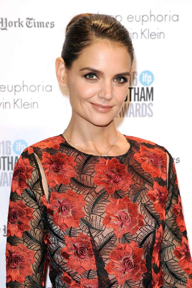 Katie Holmes - 2016 Gotham Independent Film Awards in New York