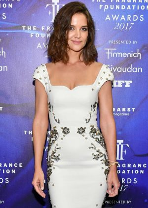 Katie Holmes - 2017 Fragrance Foundation Awards in New York City