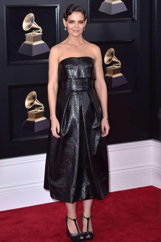 Katie Holmes 2018 Grammy Awards 09 Gotceleb