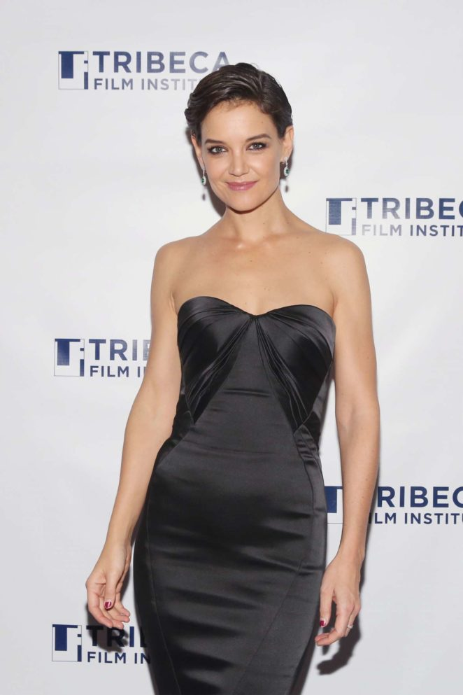 Katie Holmes - 20th Anniversary Screening Of 'Wag The Dog' in NYC