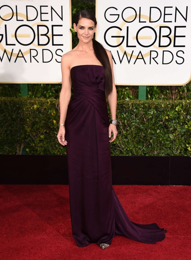 Katie Holmes - 2015 Golden Globe Awards in Beverly Hills