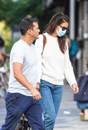 Katie Holmes And Emilio Vitolo Jr. - Seen together in New York