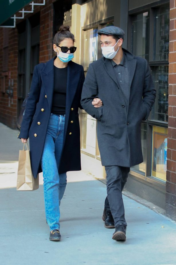 Katie Holmes and Emilio Vitolo - Out in New York