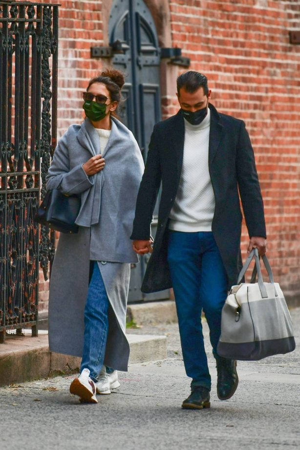 Katie Holmes and Emilio Vitolo - Out in Soho