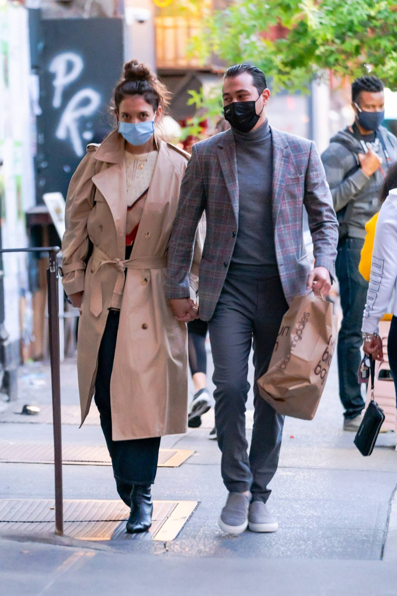 Katie Holmes 2020 : Katie Holmes and Emilio Vitolo – Spotted while out in New York City-08