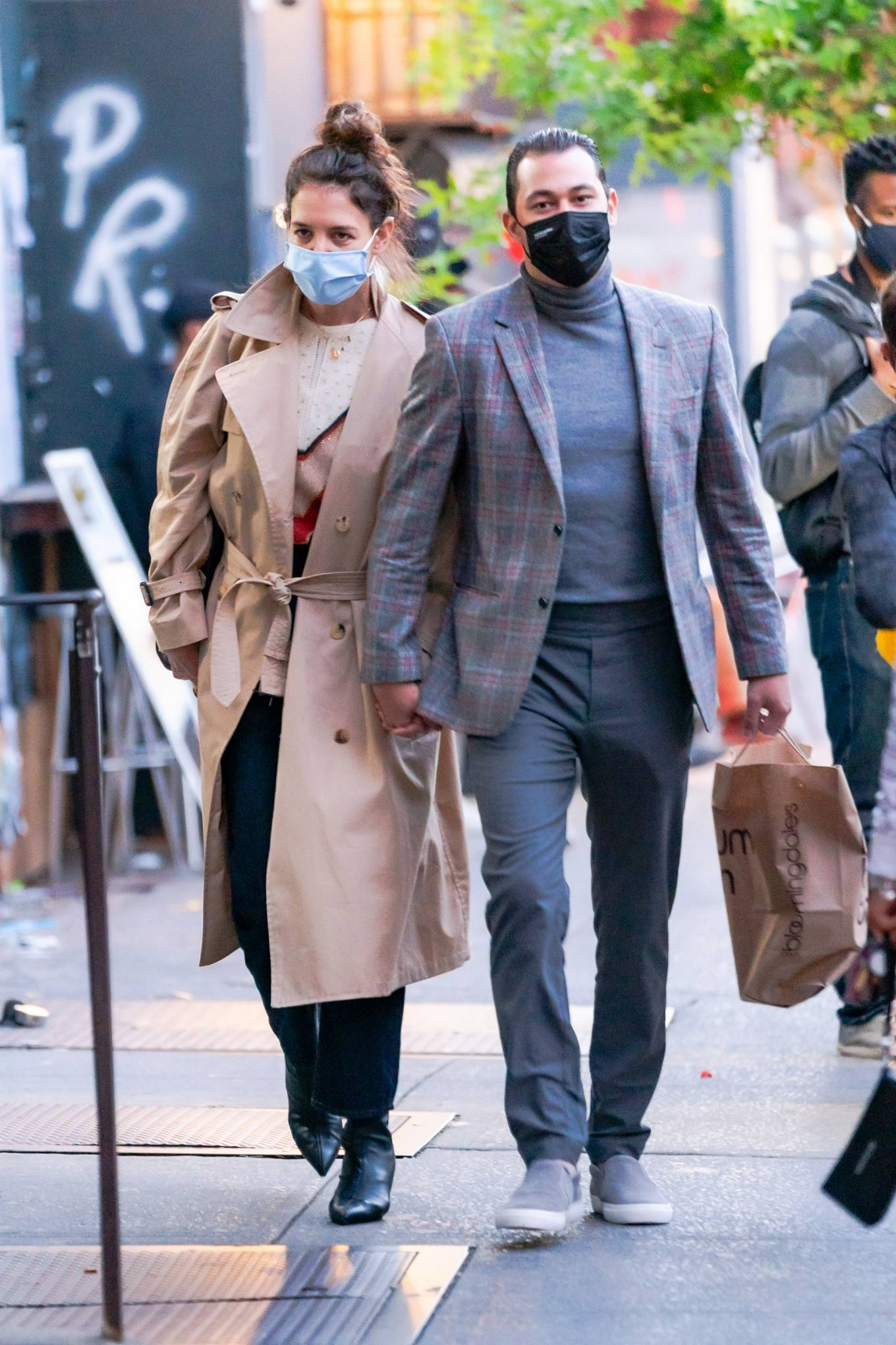 Katie Holmes 2020 : Katie Holmes and Emilio Vitolo – Spotted while out in New York City-10