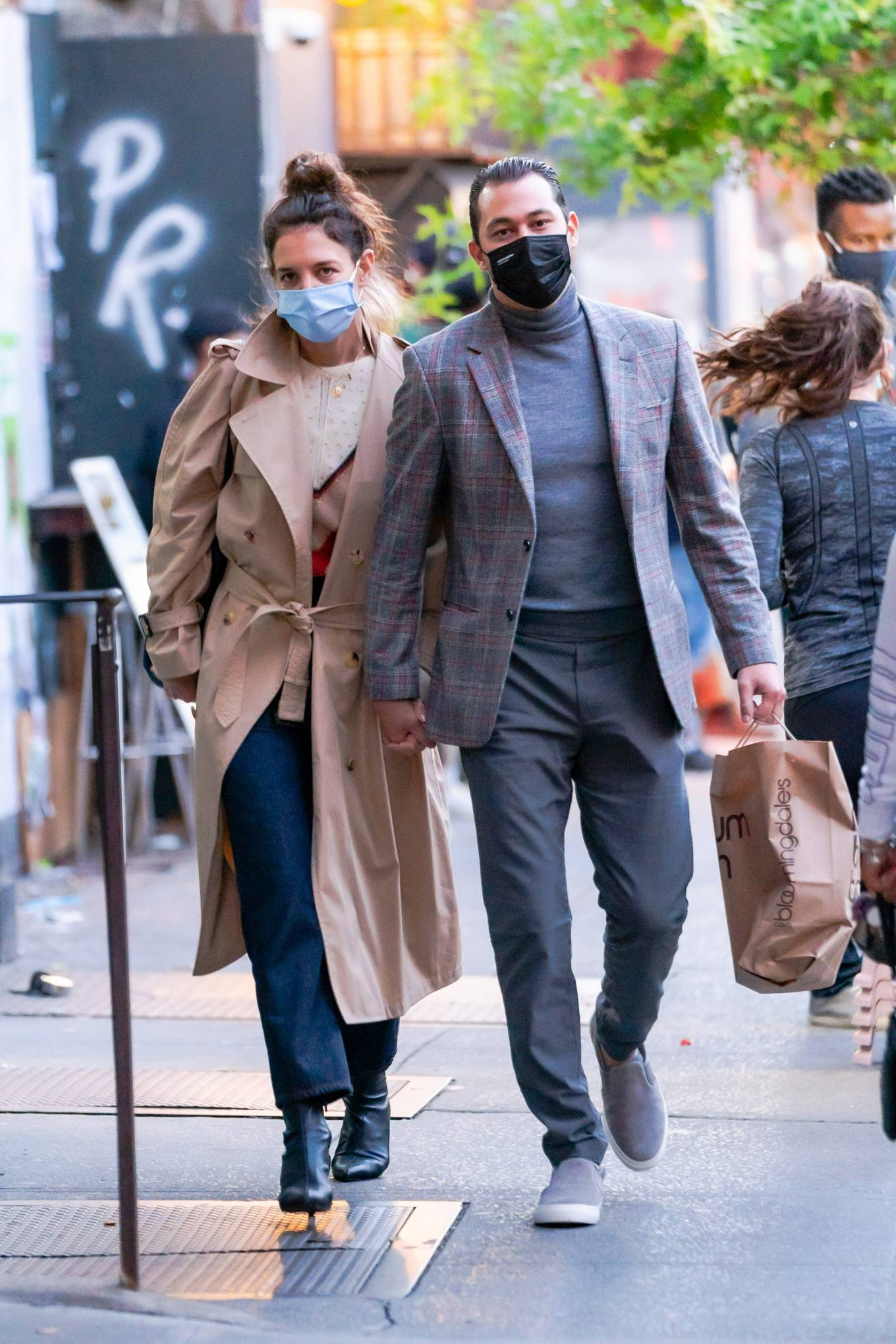 Katie Holmes 2020 : Katie Holmes and Emilio Vitolo – Spotted while out in New York City-11