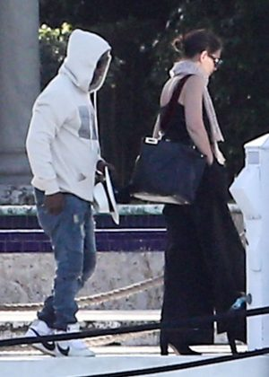 Katie Holmes and Jamie Foxx - Out in Miami
