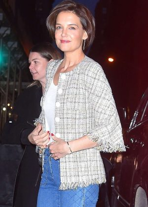 Katie Holmes - Arrives for an event in NYC