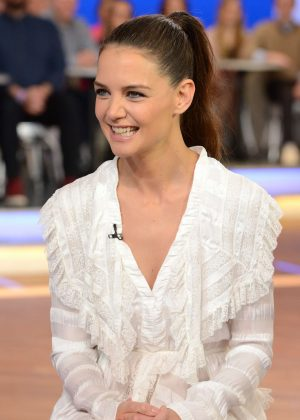 Katie Holmes at Good Morning America in NY