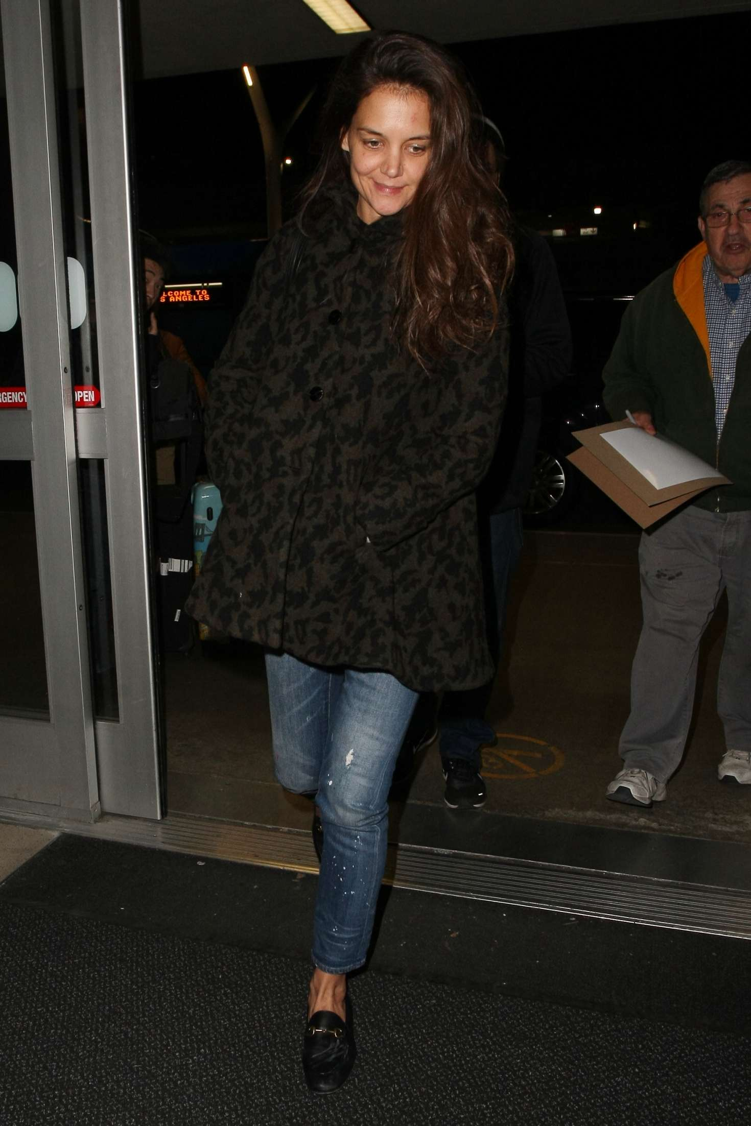 Katie Holmes 2017 : Katie Holmes at LAX airport in Los Angeles -09
