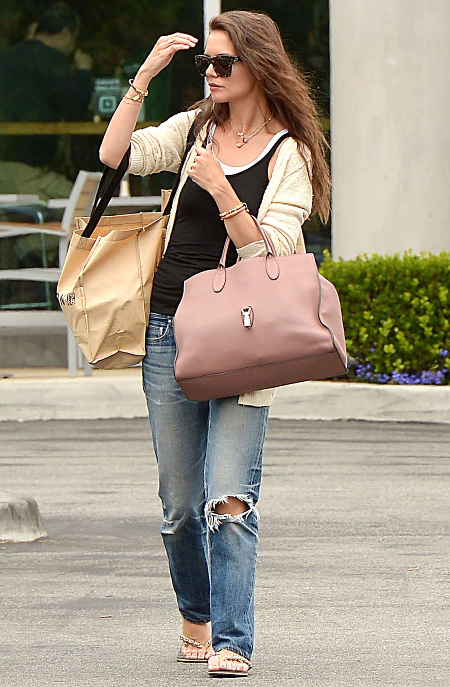 Katie Holmes 2015 : Katie Holmes in Jeans at Whole Foods -04