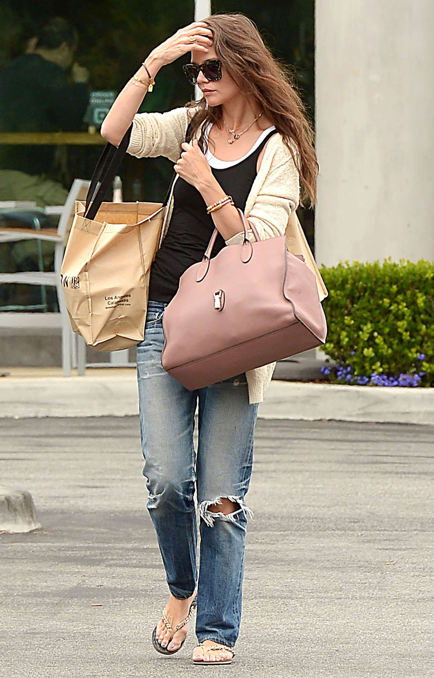 Katie Holmes 2015 : Katie Holmes in Jeans at Whole Foods -05