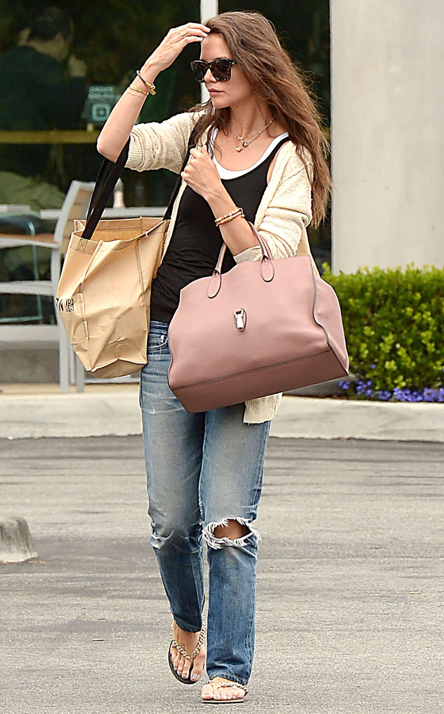 Katie Holmes 2015 : Katie Holmes in Jeans at Whole Foods -07