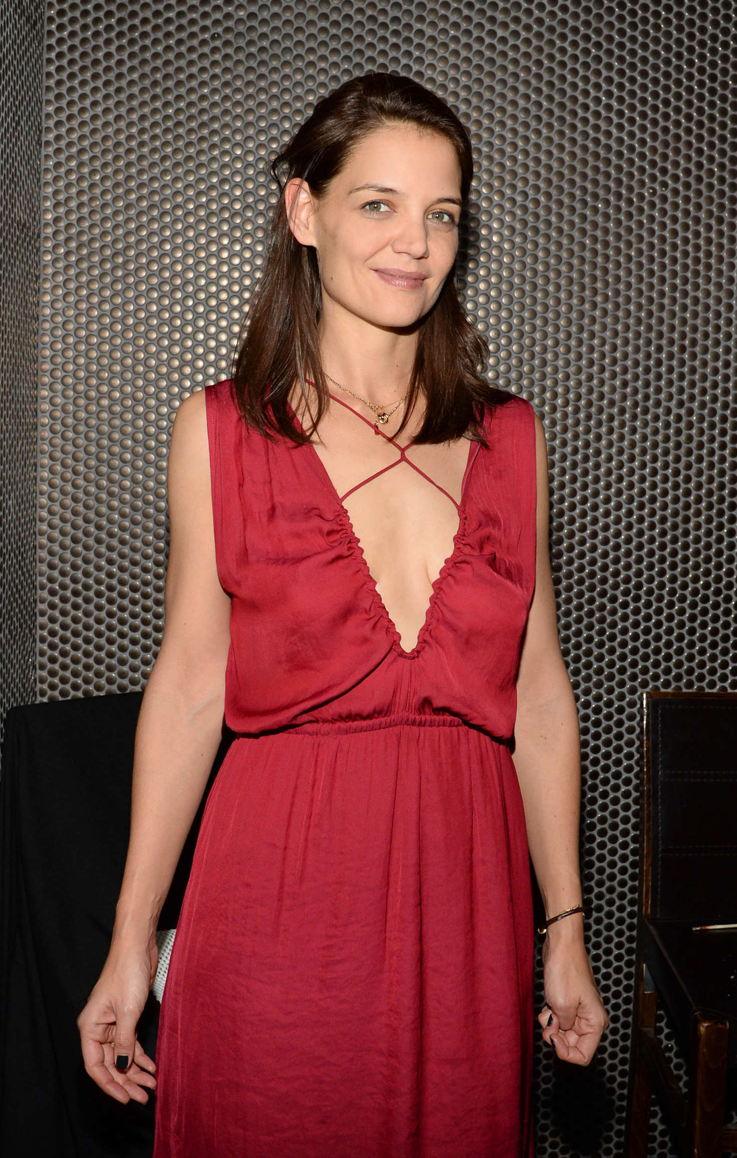 Katie Holmes - Birthday Dinner at Beauty & Essex in NYC
