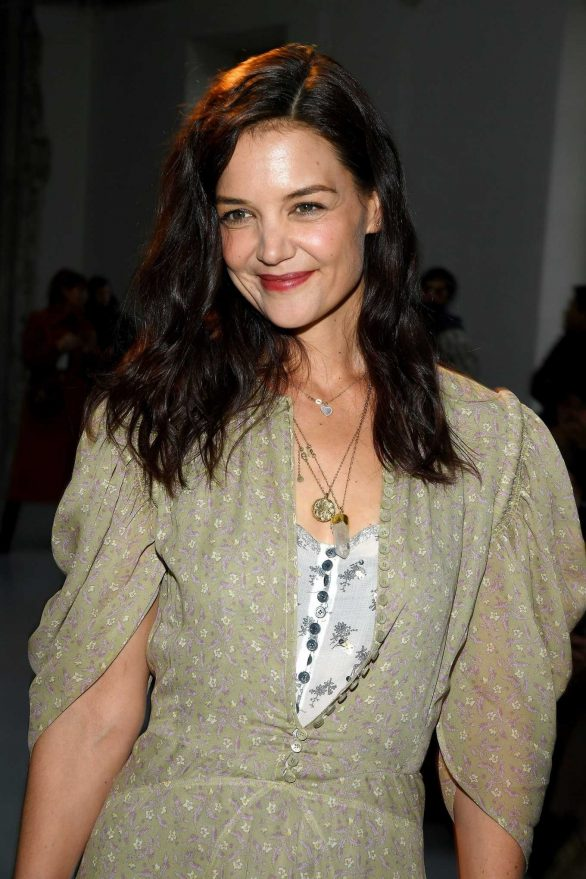 Katie Holmes - Chloe Fashion Show 2020 in Paris