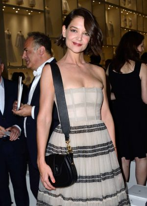 Katie Holmes - Christian Dior Haute Couture Show 2019 in Paris