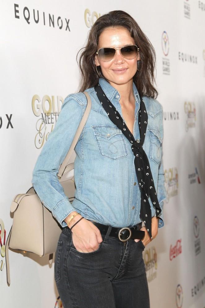 Katie Holmes - CW3PR Presents Gold Meets Golden in LA