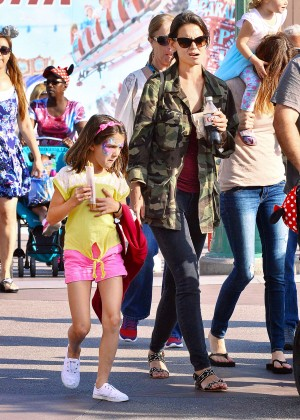 Katie Holmes: Disneyland California Adventure -08
