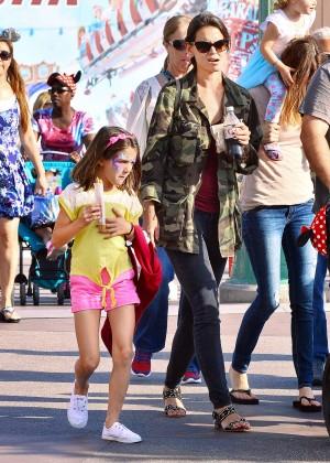 Katie Holmes: Disneyland California Adventure -08