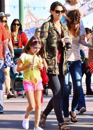 Katie Holmes: Disneyland California Adventure -11