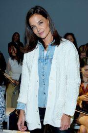 Katie Holmes - Elie Tahari Show at New York Fashion Week in NYC