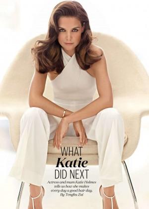 Katie Holmes - ELLE Malaysia Magazine (January 2016)