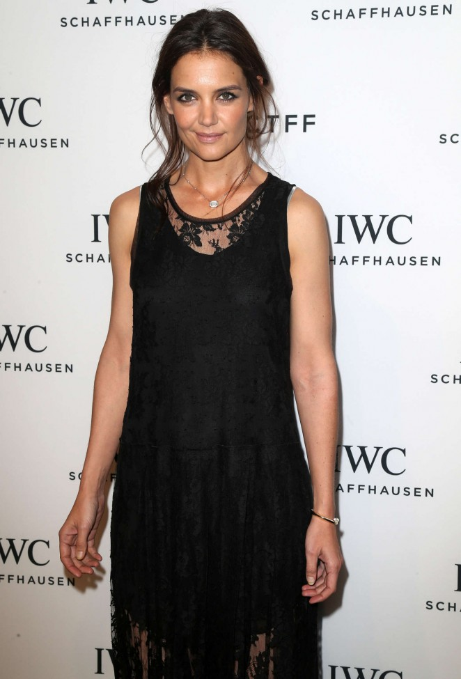 Katie Holmes - For The Love Of Cinema Dinner at Tribeca Film Fest 2016 in NY