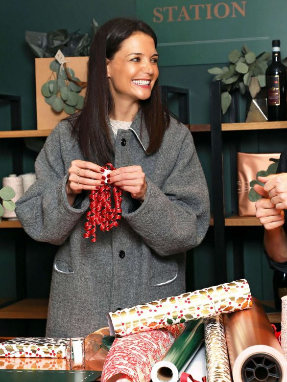Katie Holmes - Frederick Wildman Wines 'Wrappy Hour' Event in NYC