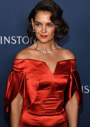 Katie Holmes - Harry Winston Unveils 'New York Collection' in NYC