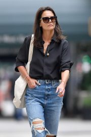 Katie Holmes - Heading to have lunch in New York City