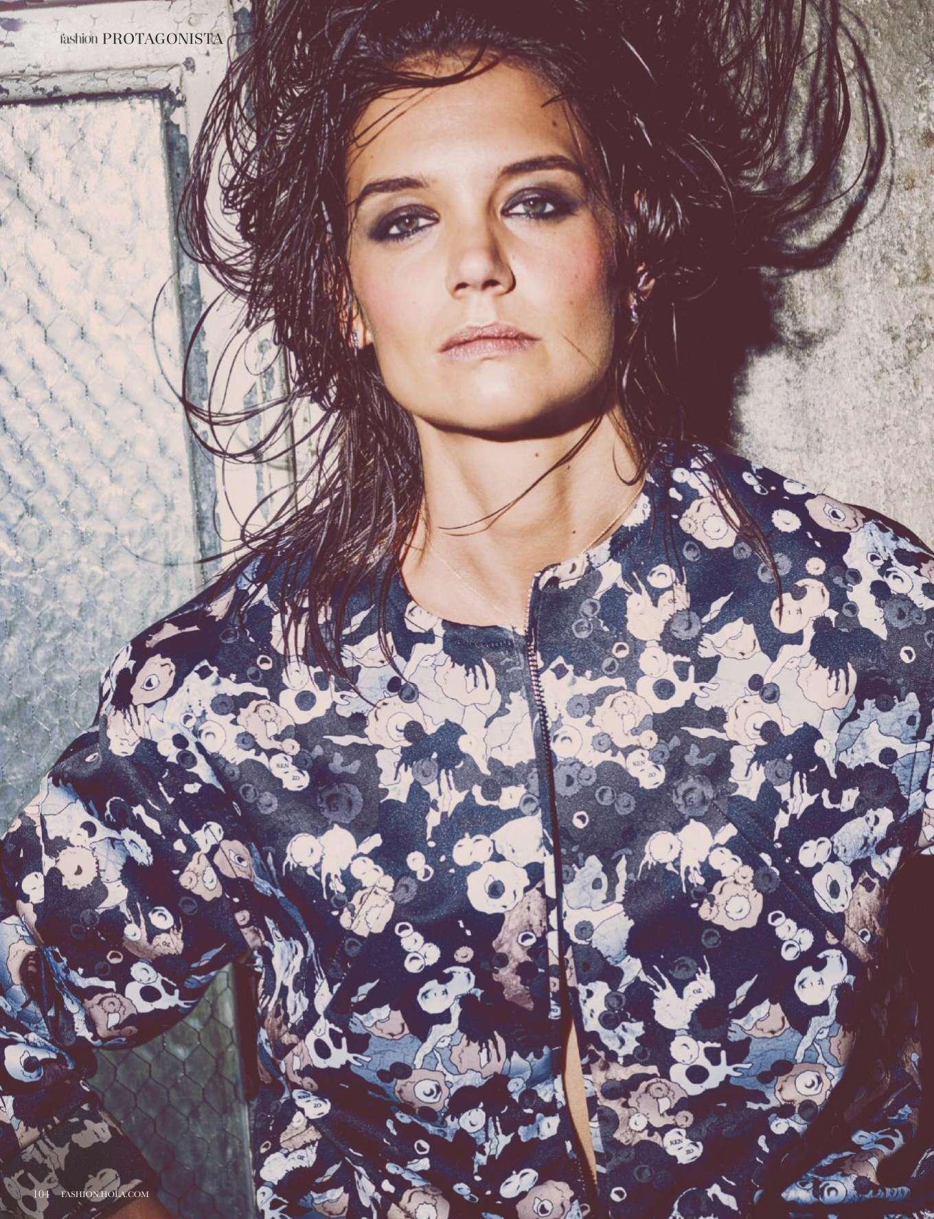 Katie Holmes - Hola Fashion Magazine (January 2020)