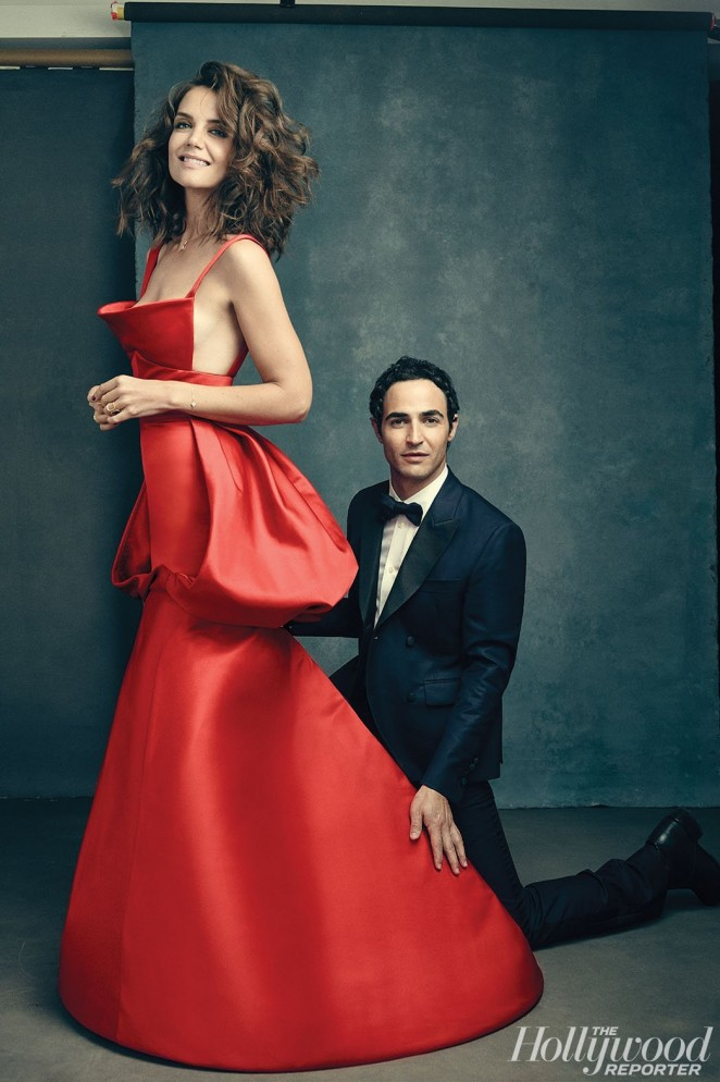Katie Holmes - Hollywood Reporter's 'Top 25 Red Carpet Designers' Exclusive Portraits 2015
