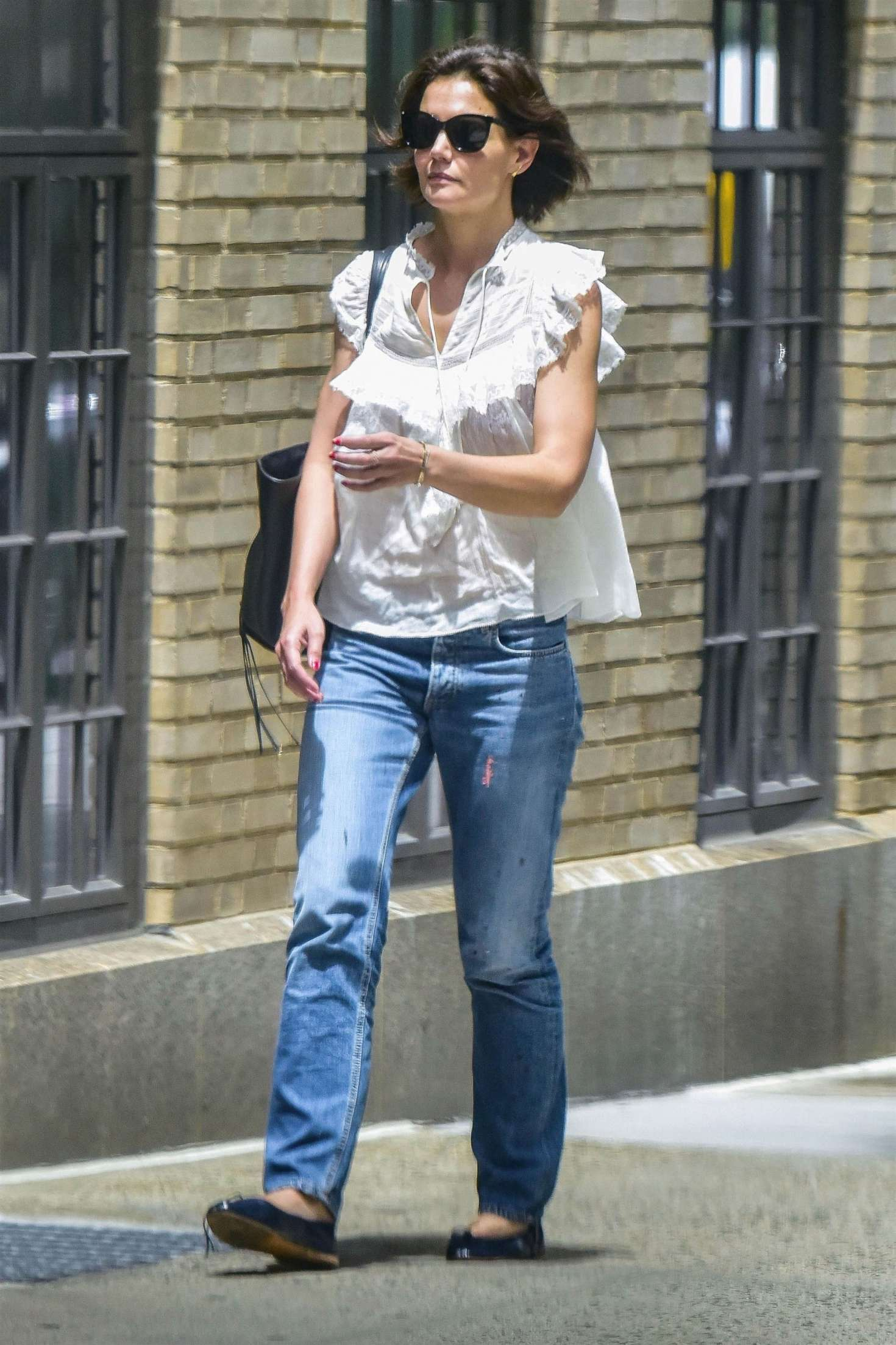 Katie Holmes 2018 : Katie Holmes in Jeans -05
