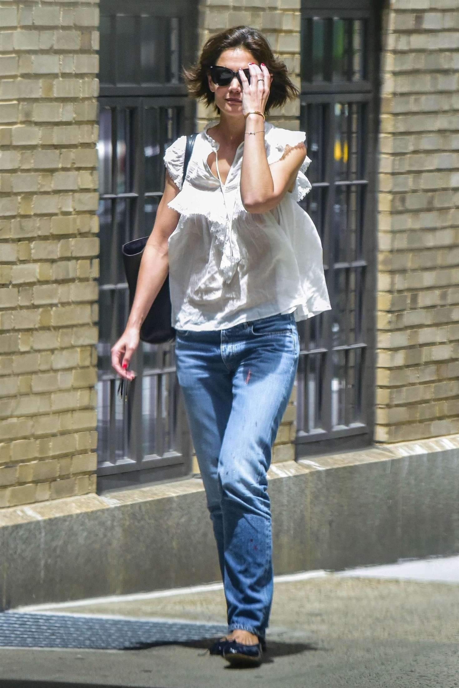 Katie Holmes 2018 : Katie Holmes in Jeans -06