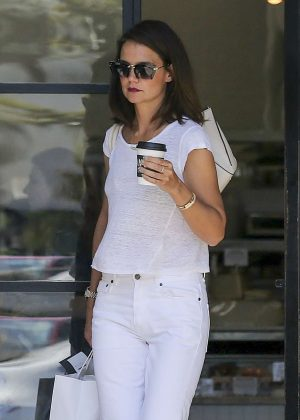 Katie Holmes in White Out in Los Angeles