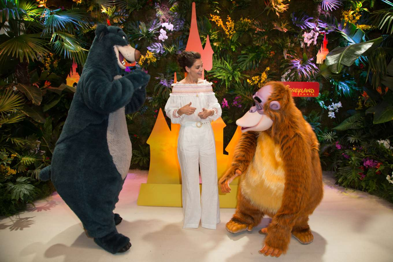 Katie Holmes 2019 : Katie Holmes- Jungle Book Jive Photocall at The Lion King Festival Event-12