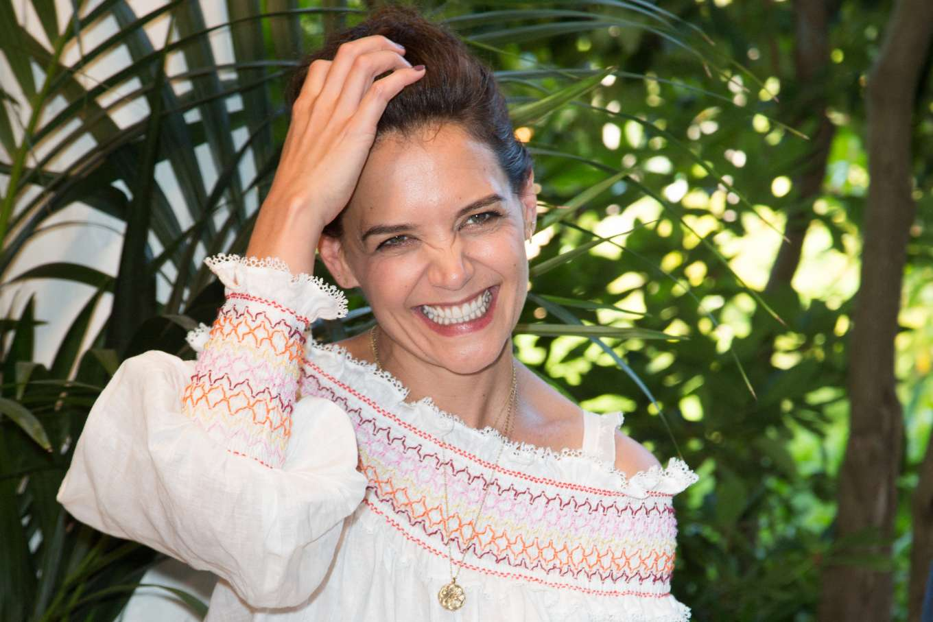 Katie Holmes 2019 : Katie Holmes- Jungle Book Jive Photocall at The Lion King Festival Event-24