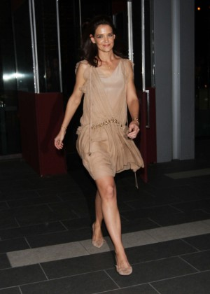 Katie Holmes - Leaving BOA in West Hollywood