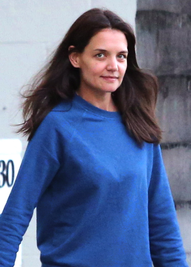 Katie Holmes Leaving gymnastics class in Los Angeles