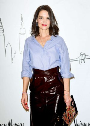 Katie Holmes - Neiman Marcus Hudson Yards Party in New York